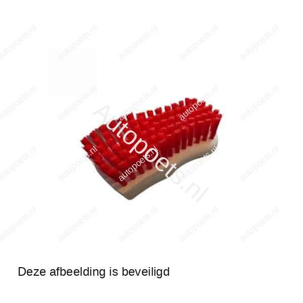 bekleding kruiken borstel rood
