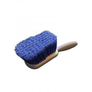 wasborstel met korte steel blauw