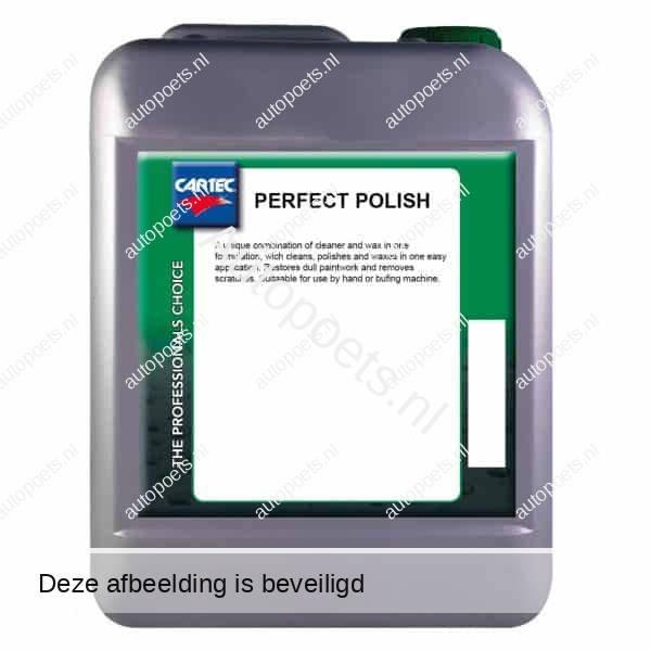 cartec perfect polish 5 liter