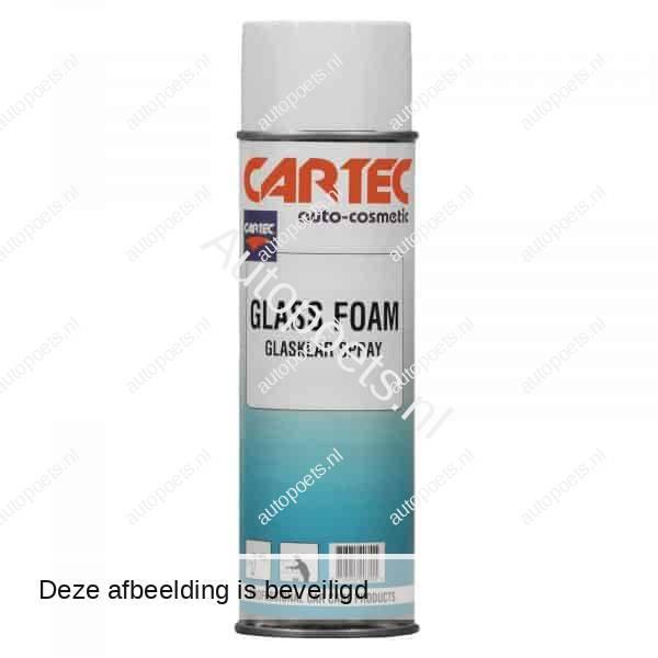 foam glass cleaner spray