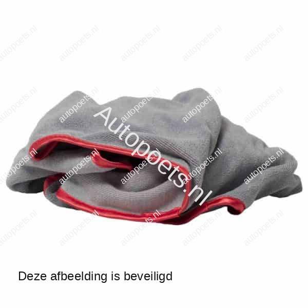 microvezeldoek grijs rood 50x50cm